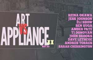 Art vs Appliance May 2nd official