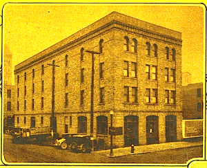 The L'abri buidling on 6th and Phillips, Sioux Falls. A photo from the Argus Leader of their new location way back in 1927 when it was known as the Andrew Kuehn Warehouse.